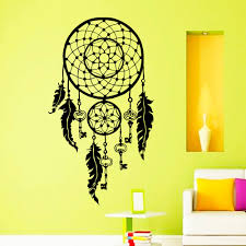 Buy Indian Home Decor Popular Wall Stickers Home Decor Feather Buy Cheap Wall Stickers