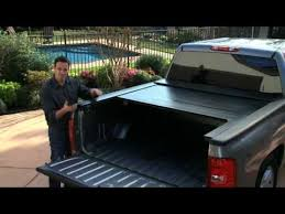 Electric Bed Cover Rollbak Retractable Tonneau Cover Youtube