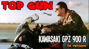 top gun kawasaki gpz 900r youtube