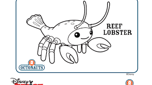 The Octonauts Coloring Pages And Crafts Disney Junior Bebo Pandco Octonauts Coloring Pages