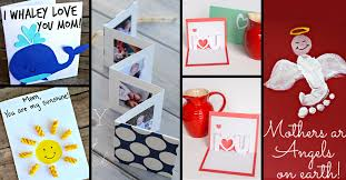 Creative Ideas To Make Greeting Cards - 30 cute and creative diy mother u0027s day cards every child can make