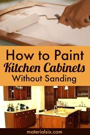 do i need primer to paint kitchen cabinets how to paint kitchen cabinets without sanding materialsix