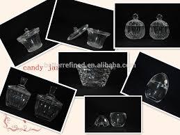 grossiste contenant verre bonne qualité rond grand bocal en verre pour bonbons thé café
