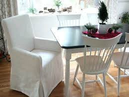 black and white chair covers white chair slipcovers dining chair regular slipcover white canvas
