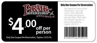 Coupons For Six Flags Pirates Voyage Coupons Printable Coupon And Deals