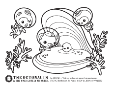 The Octonauts Activities Color Page