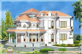 kerala home design 2012 5 kerala style house 3d models home appliance