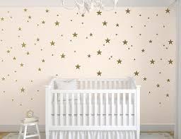 stickers étoiles chambre bébé stickers étoiles or sticker mural stickers muraux