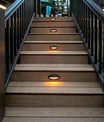 solar led deck step lights fantastic led outdoor step lights solar deck step light led deck