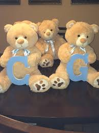 teddy centerpieces for baby shower image result for teddy with bow tie centerpieces baby
