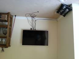 tv wall mount company wall mounted tv real room designs