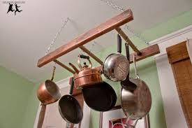 antique ladder pot rack u2013 diy old house crazy