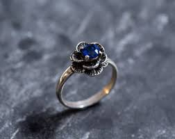 saphire rings sapphire ring etsy