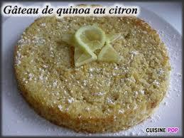 cuisiner le quinoa gâteau de quinoa au citron cuisine pop recettes végétariennes