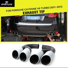 nissan 350z quad tip online get cheap porsche cayenne exhaust tips aliexpress com