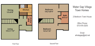 two bedroom townhouse floor plan apartments for rent delaware water gap townhouses rentals