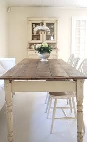 this is so easy to achieve with an old farmhouse table just paint