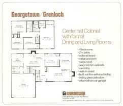 center hall colonial floor plans georgetown levittownbeyond com