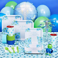 Baptism Party Decorations Boys Party Supplies Best Baby Decoration