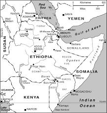 Eritrea Map Regional Collisions Article Africa Confidential