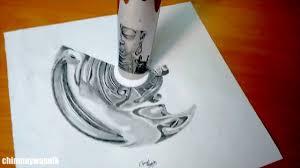 cylindrical anamorphic drawing of buddha youtube