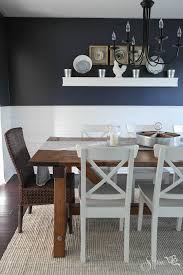 Black Farmhouse Table Farmhouse Table And Dining Room Makeover Hometalk