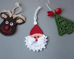 crochet pattern crochet ornaments pattern no