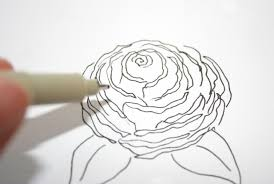 how to draw a rose 5 ways