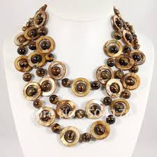 tiger eye jewelry its properties sale tiger eye necklace 3 strands