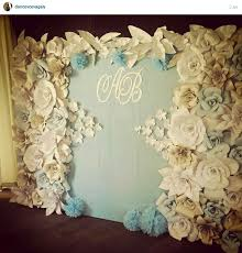 wedding backdrop of flowers paper flowers backdrop wedding paper backdrop