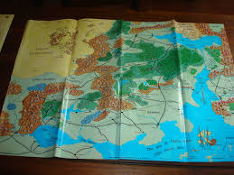 Map Of Faerun Classics Unboxed Forgotten Realms Campaign Setting 2nd Ed Ad U0026d