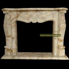 white onyx fireplace mantels