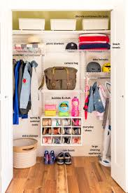 organizing our closet with rubbermaid all we are
