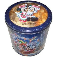 your wdw store disney happy holidays cookie tin santa mickey