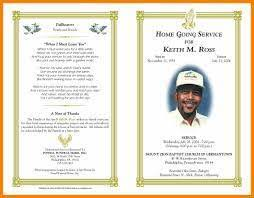 templates for funeral program free funeral program template 9 templates microsoft word hostess