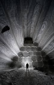 get lost in the dark beauty of a russian salt mine
