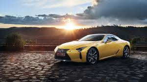 lexus yellow lexus lc 500 yellow car 2018 wallpapers 3840x2160 2109234