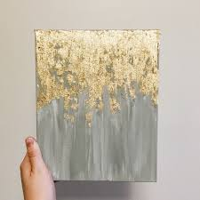 gold leaf home decor a personal favorite from my etsy shop https www etsy com listing