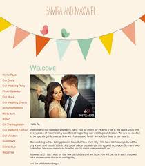 free personal wedding websites wedding website announcement invitora theme 1 cost to