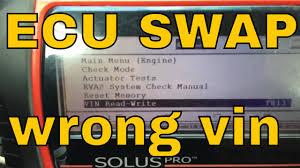 toyota lexus vin decoder how to program vin after ecu swap youtube