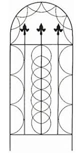 Metal Garden Trellis Uk Gardman Trellis Metal Leaves Pattern Amazon Co Uk Garden U0026 Outdoors