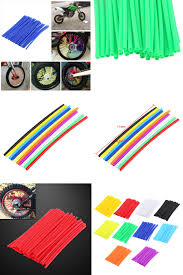 motocross helmet skins visit to buy 36pcs pack wheel spoke protector colorful motocross