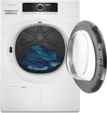 Dryer Not Drying Clothes But Is Heating Whirlpool Whd5090gw 24 Inch 4 3 Cu Ft True Ventless Heat Pump