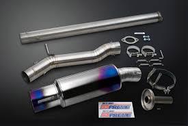 lexus hks hi power exhaust expreme titanium cat back exhaust evo 8 9