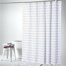 badezimmer vorhang vorhang 3m lang miwang nordic weiaen vorhang plaid badezimmer