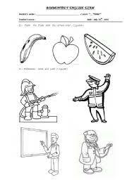english teaching worksheets kinder worksheets