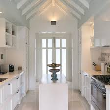 the kitchen in the alan pye cottage at huka lodge new zealand