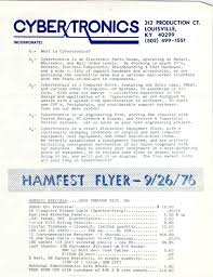 quotes on design engineering cybertronics flyers from 1976 nomadic research labs