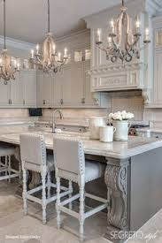 Kitchens And Cabinets Chandelier In The Kitchen Farmhouse Sink And White Windows And