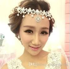 wedding headbands hot sell luxury rhinestone wedding headbands frontlet bridal tiaras